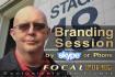 do a 15 MINUTE initial branding session via skype or phone