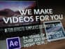 customize any AE template from videohive