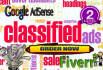 build CLASSIFIED ads website quickly
