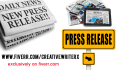 write ENGAGING Press Release for your distribution and submission
