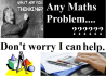 do any maths related problems as you need