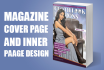 magazine Cover page and inner page design