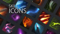paint skill icons for your game