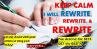 manually Rewrite 1 Article up to 500 Words