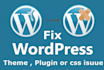 fix any WordPress website and Theme issues