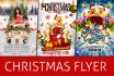 make your a great CHRISTMAS party flyer or poster