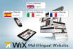 make your wix website multilingual