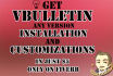 install vBulletin forum and customize it perfectly