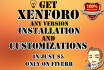 install Xenforo and Customize it perfectly