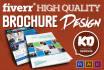 design a PREMIUM quality Flyer or Brochure