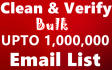 clean and verify 150K Email List in Just 24 hours