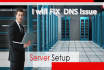 fix any DNS issues