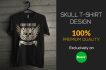 do skull tshirt design