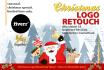create festive logo for Christmas