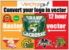 convert your any logo into vector format ASAP