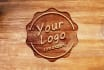 create 14 different photorealistic 3D logo mockups