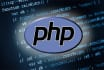 write a script in php, javascript, etc and consult