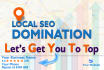 do 30 days Local SEO campaign for Page1 Rank