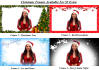 make a promotional Christmas video message