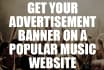 get your hip hop advert placed and advertised on a POPULAR hip hop site