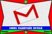 do elite design professional looking email SIGNATURE