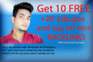 create 10 free HQ dofollow edu, gov, PR7 to PR10 Backlinks