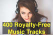 give You 400 Royalty FREE Music Tracks