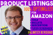 write your PERFECT amazon product listing and description