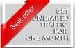 provide Unlimited Targeted Website Traffic