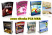 give 2000 ebooks various niches plr, mrr, resale rights