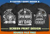make Custom T shirt design for Screen Print