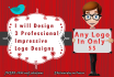 design 3 Professional Impressive Logo