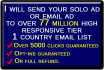 send your solo ad or any offer to 77 million getresponse list