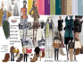 create fashion mood board for your collection