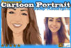 create Realistic Cartoon from Photo