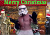personalize this funny Christmas Star Wars Video