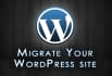 move your WordPress website to another host