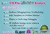 fix vBulletin errors and problems