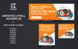 design 3 size Professional Web BANNER Ads