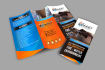 design marketing brochure, Flyer