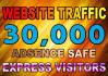 provide unlimited a,social,signals,real visitors