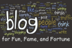 write 04 personal, quality comments on your blog site