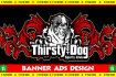 design ornate and superb advertising web banner