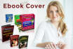 create an Awesome 3d ebook cover within 24 hours