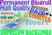 give you 10 sites, da 20 permanent blogroll