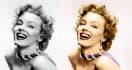 turn 4 black and white photos into color photos
