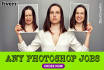 do awesome photoshop jobs