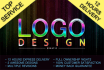 design 2 GREAT logo in 12hrs with free Vector file