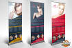 design awesome and professional roll up banners