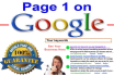teach you How To Rank On The First Page of Google